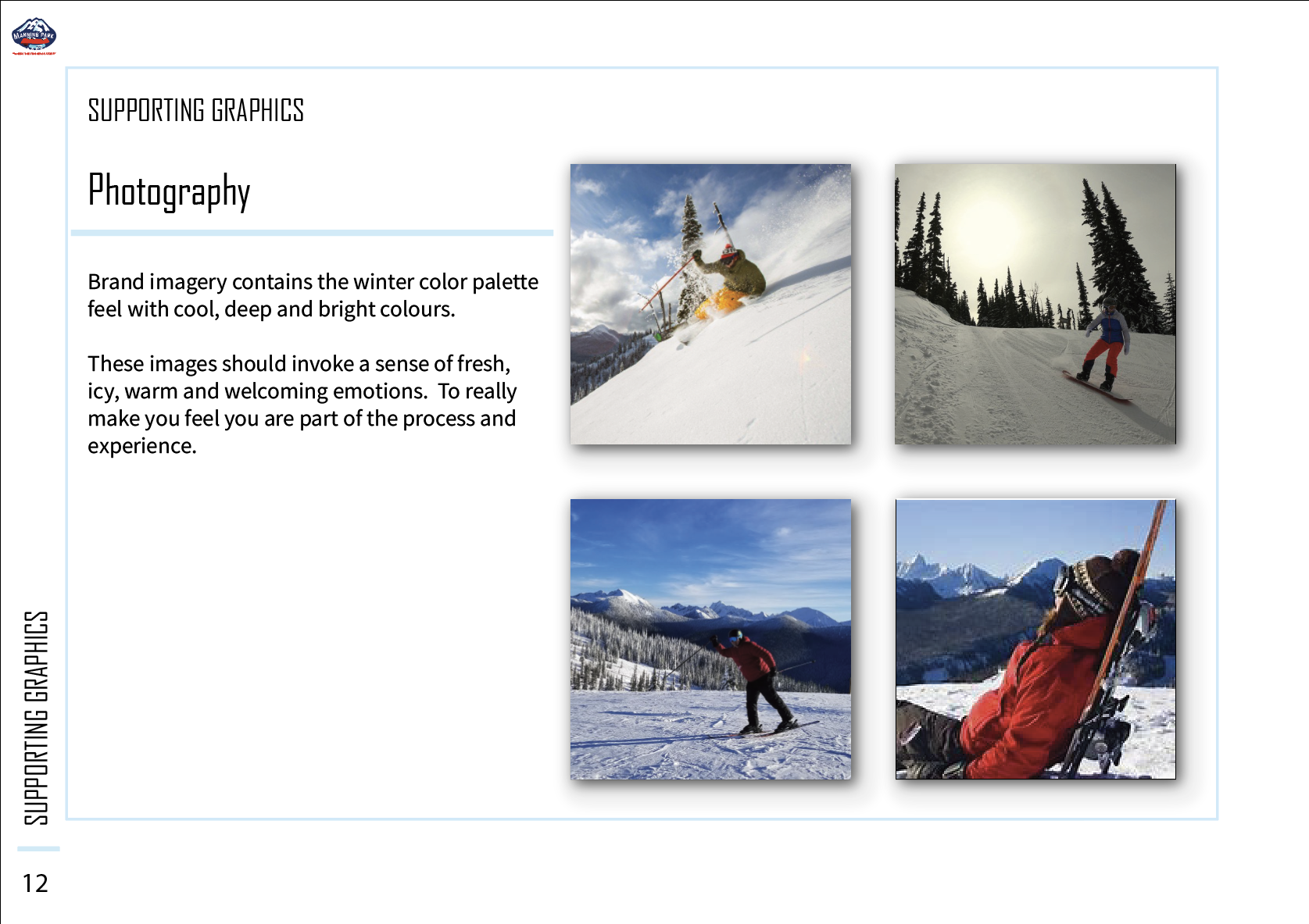 Brand Style Guide of Manning Park Resort